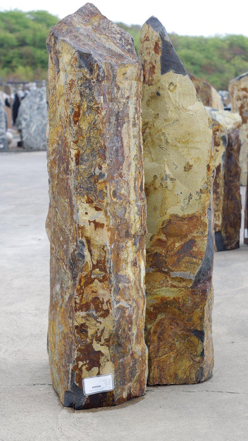 Beispiel eines Naturstein mit wunderschchönen Maserungen