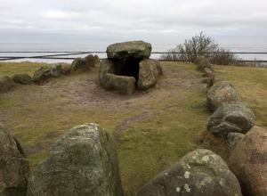Ein Hünengrab in Keitum auf Sylt