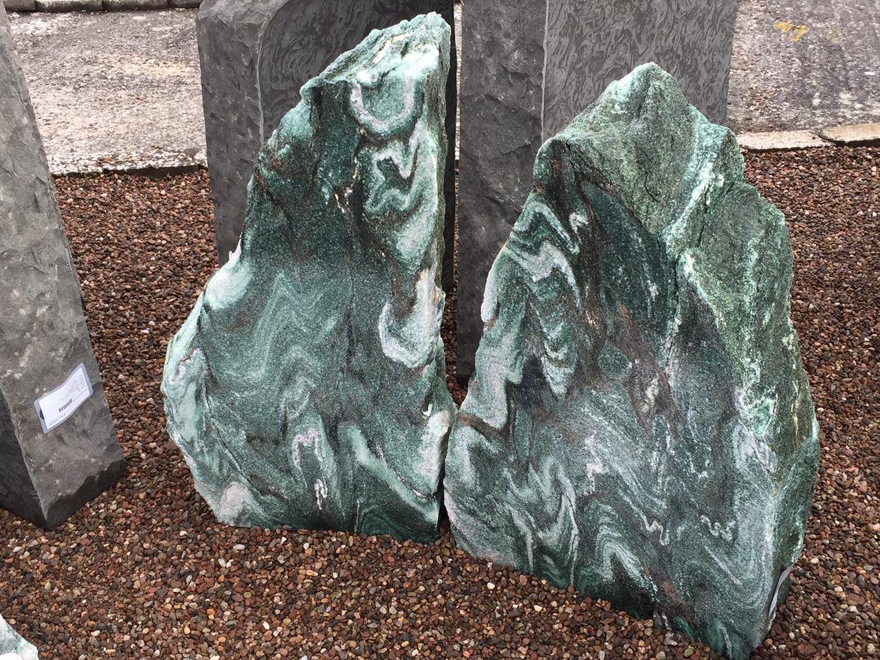 """Der Masi-Quarzit """"Atlantis"""" in unserer Ausstellung in Großenlüder"""